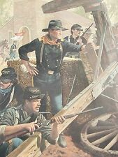 "Don Stivers ""THE WAIT AT VICKSBURG"" - John Wayne, S/N 2586/3500,LE FREE SHIPPING"