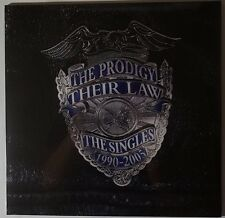 The Prodigy-their Law-The Singles 1990-2005 2lp/mp3 180g SILVER VINILE NUOVO