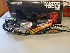 Matco tools NHRA CRAIG TREBLE PRO STOCK BIKE( MOTORCYCLE) LIMITED  EDITION 1:9