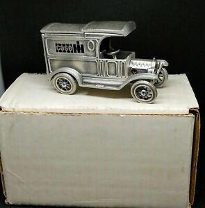 Case IH 1913 Ford Model T Delivery Van Pewter - International Harvester 1:43