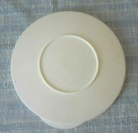 "TUPPERWARE IMPRESSIONS 7"" ROUND REPLACEMENT LID SEAL ONLY 3096B White NEW"