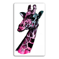 2 x 10cm Giraffe Vinyl Stickers - Art Africa Wild Sticker Laptop Luggage #18098