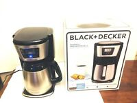 Black and Decker Model CM2035B Thermal Programmable 12 Cup Coffee Maker