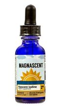 MAGNASCENT 2% NASCENT IODINE 1oz THYROID THERAPY ANTI BACTERIAL ANTI VIRAL SAFE