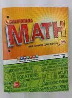 CALIFORNIA MATH Your Common Core Edition Course 2/Volume 2 Paperback – 2015