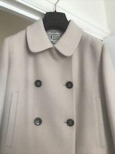NEW Agnona Cream/Light Beige Ladies Coat Size 44