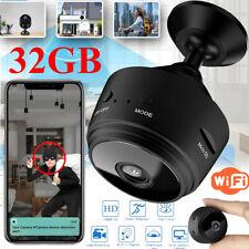 32GB 1080P Mini Camera WiFi Car Home Sercurity DVR Recorder Night Vision Camera