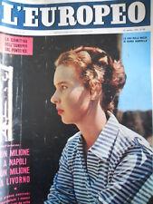 L' EUROPEO n°42 1956 Maria Gabriella di Savoia - James Dean non è morto [C76]