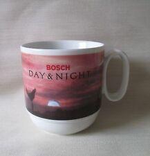 """Rosenthal Bosch """" Day & Night """" Werbung Kaffeebecher Becher 300 ml TOP-Erhalten"""