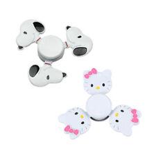 Snoopy Hello Kitty Fidget Hand Spinner Bearing Desk Toys Finger Focus Toy Kids