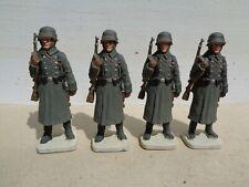 Imrie Risley ww2 German Army in Winter dress, soldiers, lot of 4 lead 54mm, jj