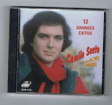 CAMILO SESTO - 12 GRANDES EXITOS - AMOR LIBRE - 12 TITRES - CD NEUF NEW NEU
