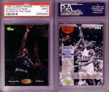 1995 SHAQUILLE O'NEAL Classic IMAGES Player of the Year POY Card PSA 9 Mini RARE