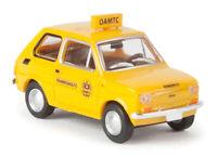 BREKINA 22367 Fiat 126' Öamtc ' Yellow, Scale H0 1:87