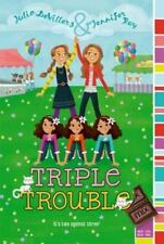 Mix: Triple Trouble by Jennifer Roy and Julia DeVillers (2014, Paperback)