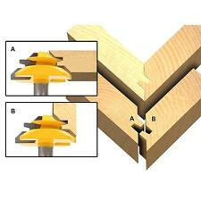 """Tongue & Groove Router Bit 1/2"""" Shank For Woodworking Tool Kits Q"""