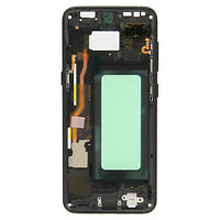 Samsung Galaxy S8 Central Frame Full Motherboard - Black