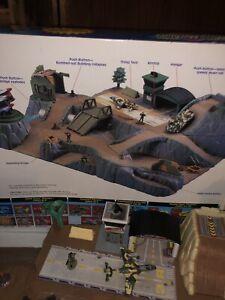 Micro Machines Wolf Ridge Battleground Playset by Galoob 1991 Combat Vintage