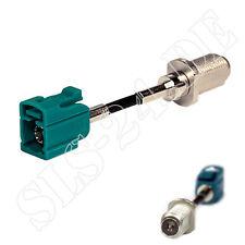 Antennenadapter F-Buchse Antenne Adapter - FAKRA-Stecker f. DVB-T Tuner Receiver