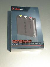 BLACKWEB - BWA19AV901 - COMPOSITE AV TO HDMI CONVERTER, NEW, Damaged Box