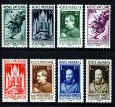 More details for vatican 1936 full catholic world exhibition set sg 47 to sg 54 mnh