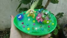 Easter Egg Green Home decoration display Needle Felt puppy handmade