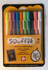 Sakura Souffle 3D Opaque Matte Ink Pens Set of 10 New