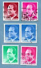 Sellos de España 1985 Rey Juan Carlos I. seis sellos