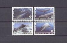 Wale, Meerestiere, WWF - BAT - 353-356 ** MNH 2003