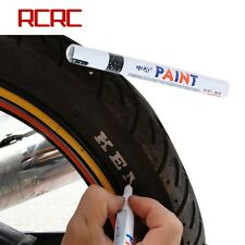 Universal Waterproof Permanent Paint Marker Pen Car Tyre Tire Tread Rubber White