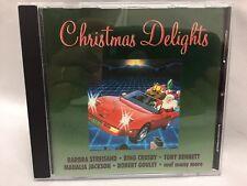 Christmas Delights CD ~ Barbara Streisand Bing Crosby Mahalia Jackson