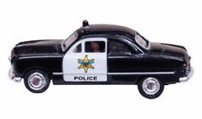 NEW Woodland Police Car  N Scale JP5613
