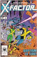 X-Factor (1986 1st Series) #1 NM