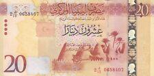 LIBYA 20 DINARS 2015 2016 P-83 UNC */*