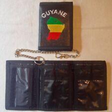 Porte monnaie Guyane  / Drapeau / 13 cm X 9 cm