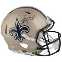 ALVIN KAMARA Autographed New Orleans Saints Authentic Speed Helmet FANATICS