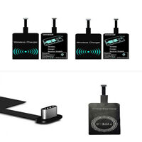 Wireless Charger Adapter Fast Charging Receiver For Andriod Phone Type-C Acces