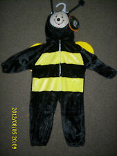 TODDLER FULL BODY HALLOWEEN COSTUME BUMBLEBEE  WITH TAGS