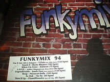 Funkymix 94 NEW DBL VINYL T Pain Stripper Ne Yo So Sick Eminem Busta Rhymes