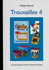RARE EO N° PHILIPPE MOUVET  + FRANQUIN + TILLIEUX + GRATON  : TROUVAILLES N° 4
