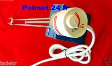 Heizpatrone, Heizstab, Heizelement,  3,0 KW  mit Thermostat 6/4 Zollgewinde