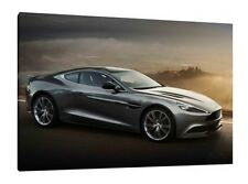 Aston Martin DB9 - 30x20 Inch Canvas Wall Art - Framed Picture Poster Print