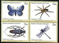 United Nations-Geneva Stamp - Butterfly, spider, beetle, dragonfly Stamp - NH