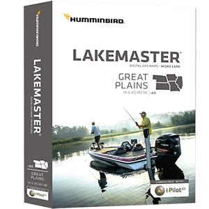 Humminbird Lakemaster Maps, Great Plains