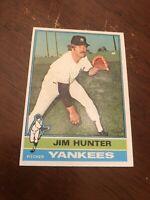 1976 Topps Jim Hunter #100 Baseball Card