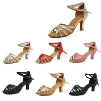 Brand New Ballroom heeled Latin Dance Shoes for Women/Ladies/Girls/Tango&Salsa