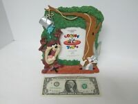 NEW Bugs Bunny & Tasmanian Picture Frame Warner Bros Looney Tunes ALL WET - FIGI