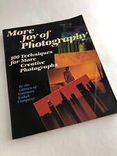 More Joy of Photography by Richard A. Epstein & Eastman Kodak Co. -