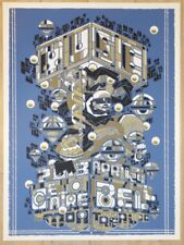 2013 Muse - Montreal II Silkscreen Concert Poster by Guy Burwell