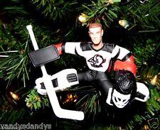 dominik HASEK buffalo SABRES hockey NHL xmas TREE ornament HOLIDAY white JERSEY